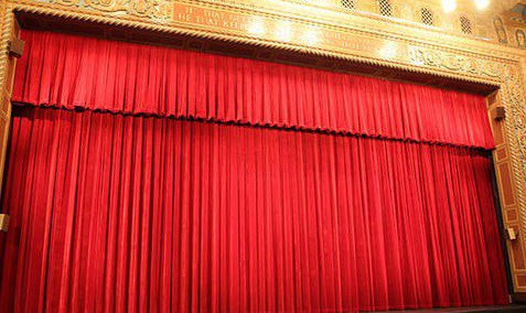 telon apertura manual en teatros