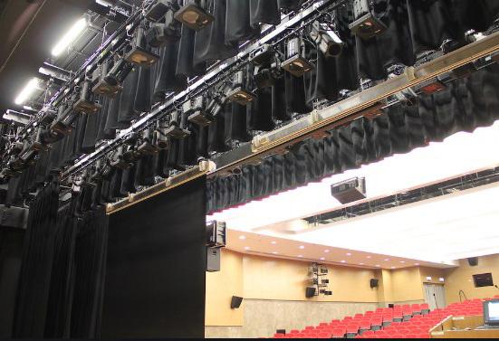 equipamiento de telones para teatros economicos