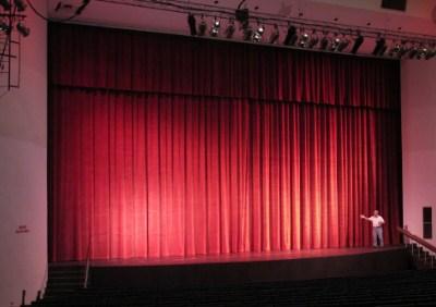 telones ligeros para teatros