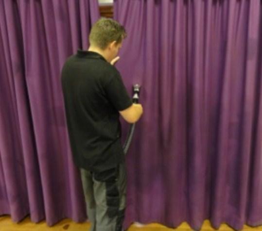 mantenimiento telones de teatros