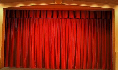 telones para teatros en terciopelo