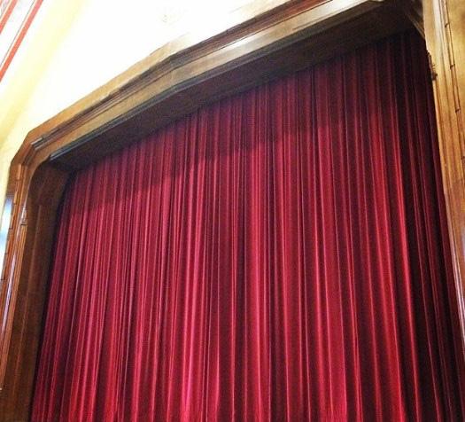 telones para teatros fabricados a medida