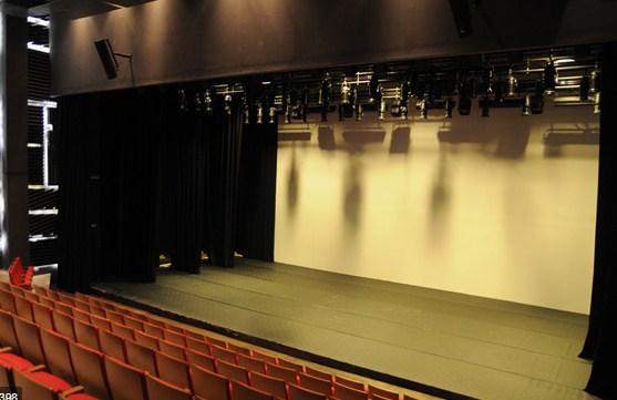 camara negra de un teatro